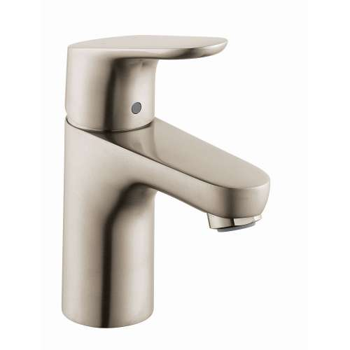 Hansgrohe Focus Single-Hole Faucet 100 with Pop-Up Drain, 1.2 GPM