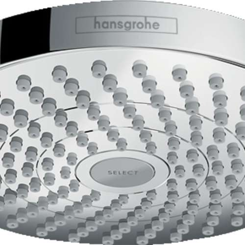 Hansgrohe Croma Select S 1.8 GPM 2-Jet Showerhead 180 - In Multiple Colors