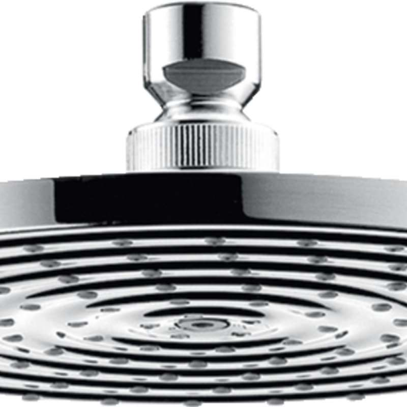 Hansgrohe Raindance S 2.0 GPM 1-Jet Showerhead 180 - In Multiple Colors