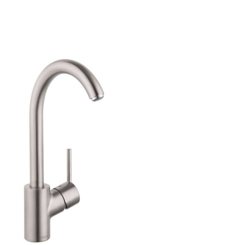 Hansgrohe Talis S Kitchen Faucet, 1-Spray, 1.5 GPM Steel Optic