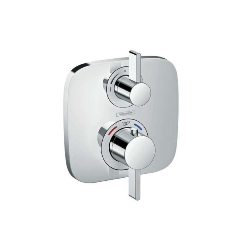 Hansgrohe Ecostat E Thermostatic Trim with Volume Control - In Multiple Colors