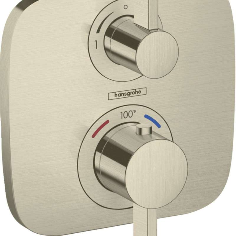 Hansgrohe Ecostat E Thermostatic Trim with Volume Control