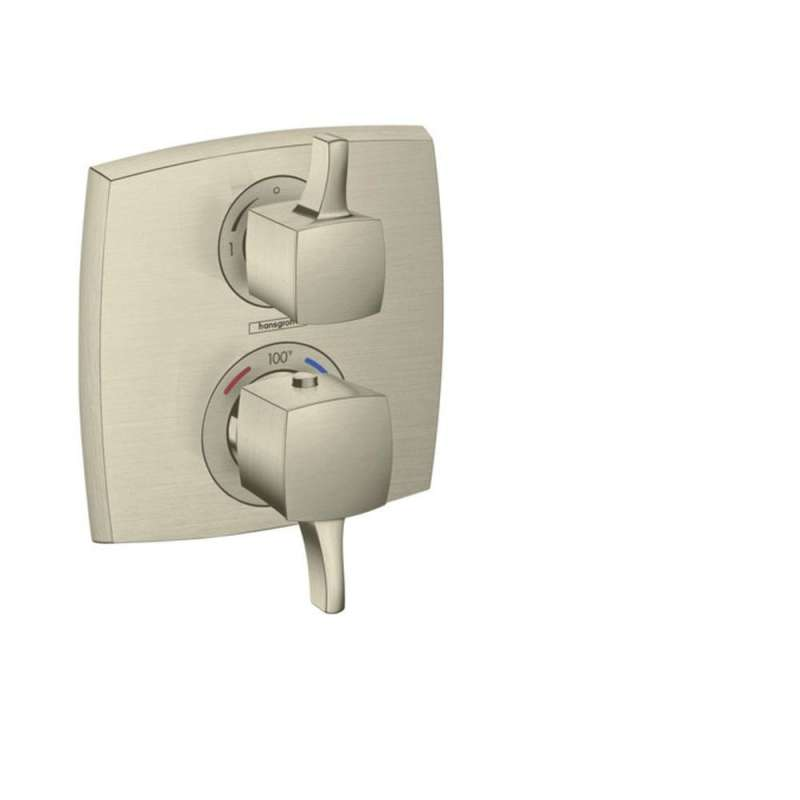 Hansgrohe Ecostat Classic Square Thermostatic Trim with Volume Control