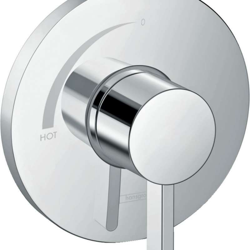 Hansgrohe Ecostat S Pressure Balance Trim - In Multiple Colors