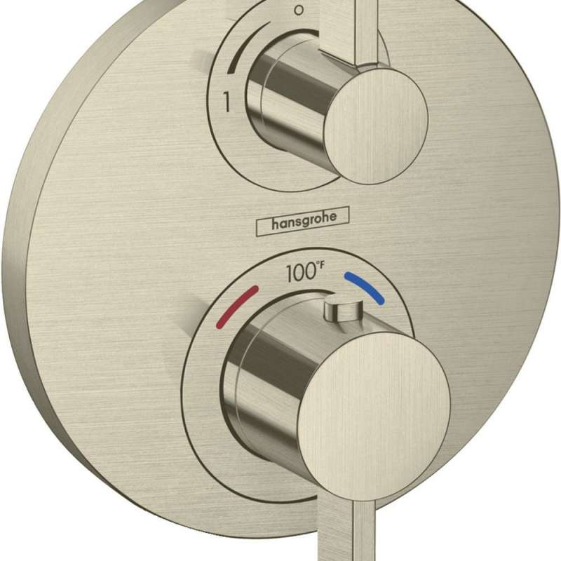 Hansgrohe Ecostat S Thermostatic Trim with Volume Control