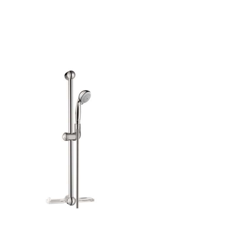 Hansgrohe Croma 24-in. 1.5 GPM 1-Jet Wallbar Set