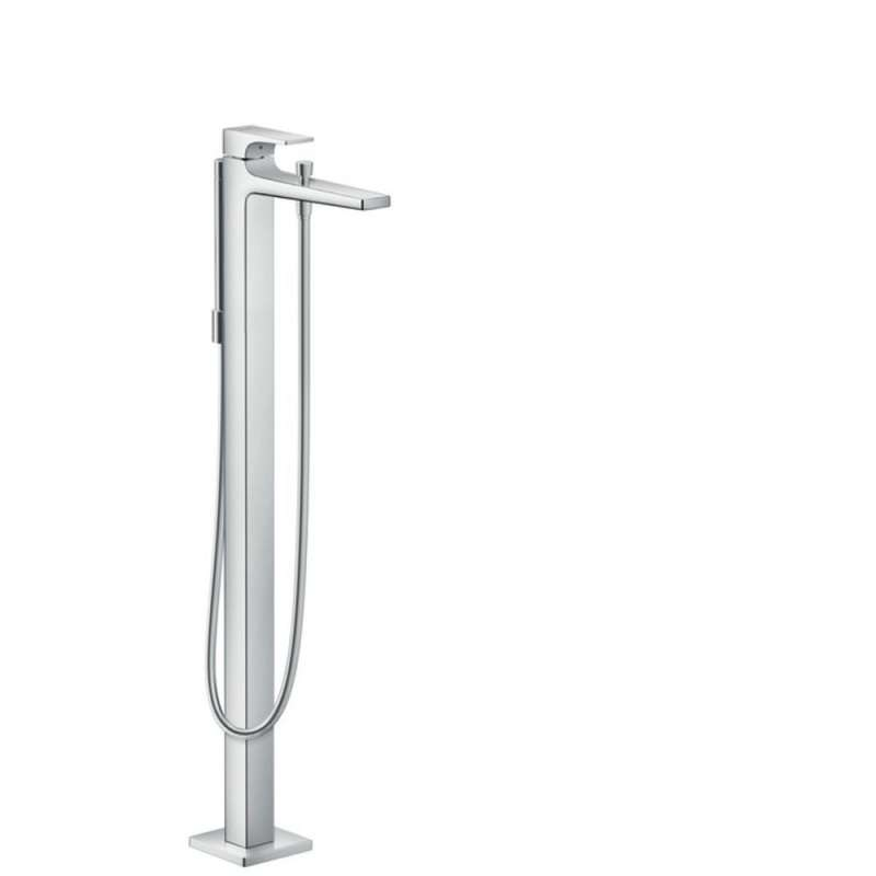 Hansgrohe Metropol Freestanding Tub Filler Trim with Lever Handle and 1.75 GPM Handshower - In Multiple Colors