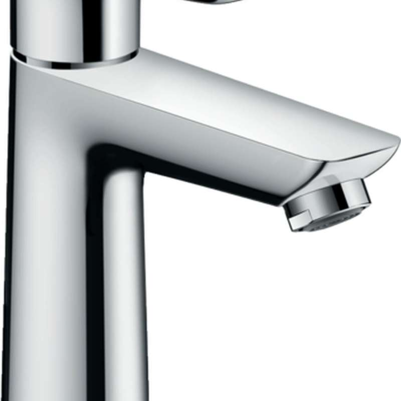 Hansgrohe Talis E Single-Hole Faucet 110 with Pop-Up Drain, 1.2 GPM