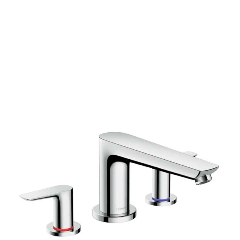 Hansgrohe Talis E 3-Hole Roman Tub Set Trim - In Multiple Colors