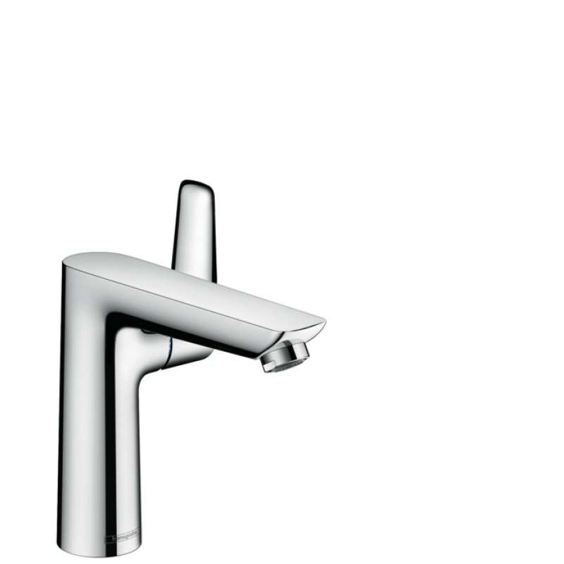 Hansgrohe Talis E Single-Hole Faucet 150 with Pop-Up Drain, 1.2 GPM