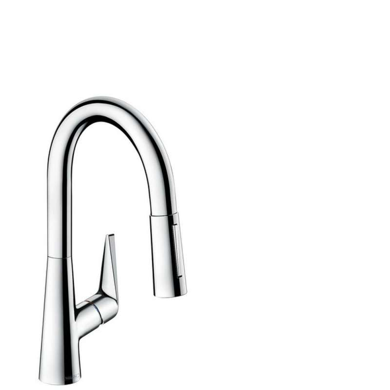 Hansgrohe Talis S Prep Kitchen Faucet, 2-Spray Pull-Down, 1.75 GPM - In Multiple Colors