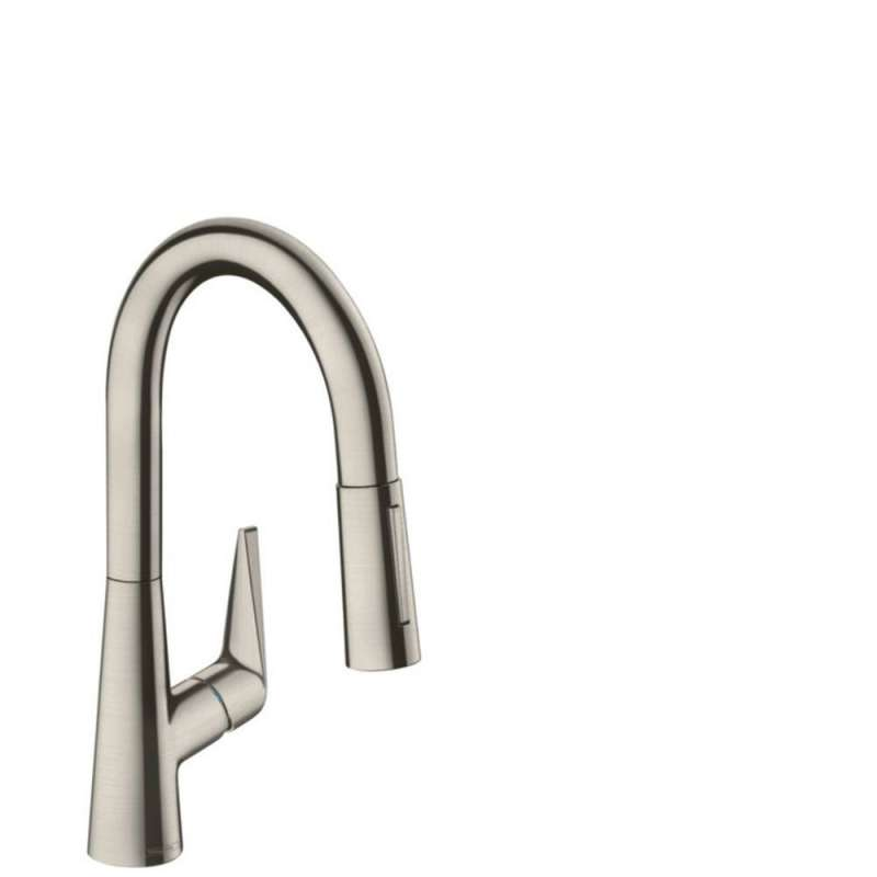 Hansgrohe Talis S Prep Kitchen Faucet, 2-Spray Pull-Down, 1.75 GPM