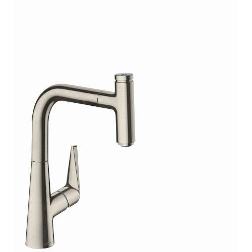 Hansgrohe Talis Select S Prep Kitchen Faucet, 1-Spray Pull-Out, 1.75 GPM