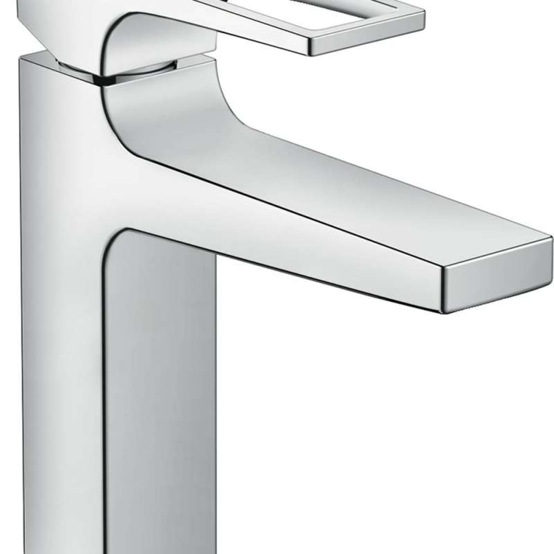 Hansgrohe Metropol Single-Hole Faucet 110 with Loop Handle and Pop-Up Drain, 1.2 GPM - In Multiple Colors