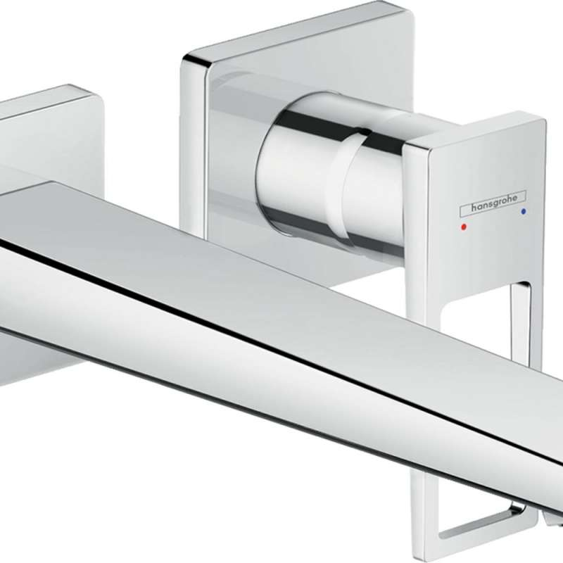 Hansgrohe Metropol Wall-Mounted Single-Handle Faucet Trim with Loop Handle, 1.2 GPM - In Multiple Colors