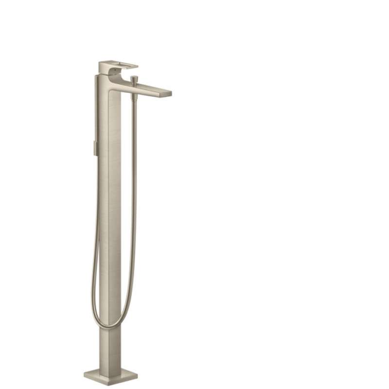 Hansgrohe Metropol Freestanding Tub Filler Trim with Loop Handle and 1.75 GPM Handshower