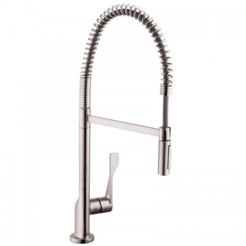 Axor Citterio Pre-Rinse Kitchen Faucet With Toggle Spray Diverter