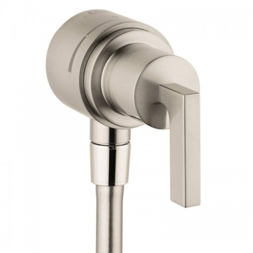 Axor Citterio Wall Supply Elbow With Integrated Shut Off And Volume Control