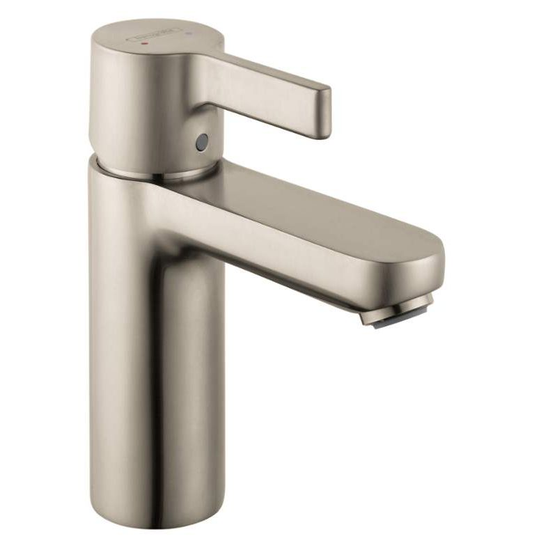 Hansgrohe Metris S Single Hole Bathroom Faucet With Lever Handle In