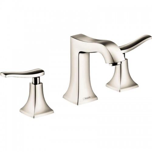 Hansgrohe Metris C Widespread Bathroom Faucet With Lever Handles