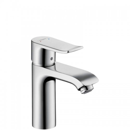 Hansgrohe Metris Single-Hole Bathroom Faucet With Lever Handle