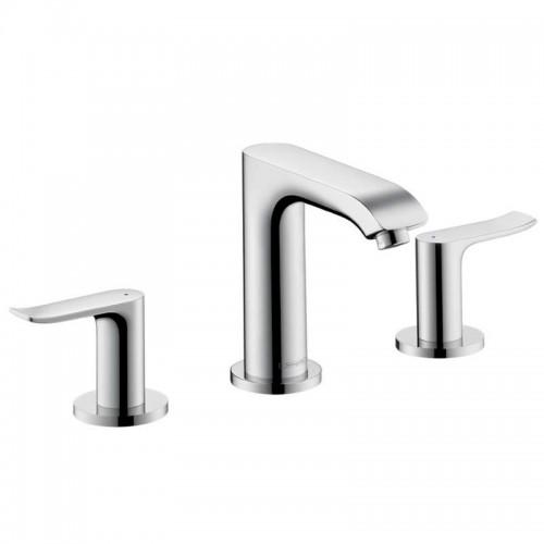 Hansgrohe Metris Widespread Bathroom Faucet With Lever Handles