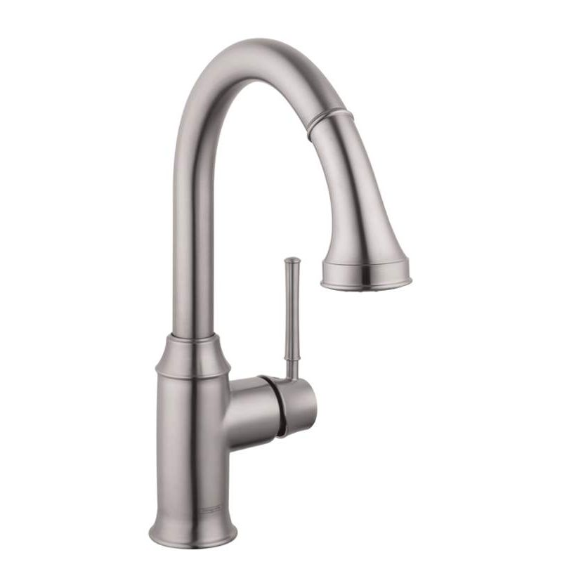 Buy Hansgrohe Talis C Pull Down Kitchen Faucet With High Arc Spout