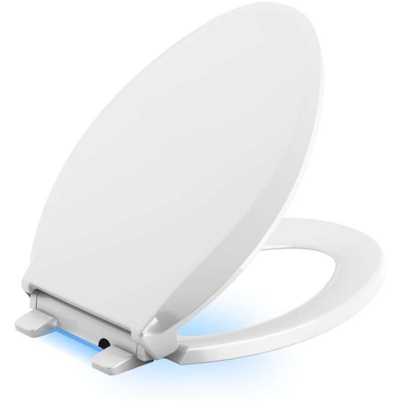 Kohler K-75796-0 Cachet Nightlight Elongated Toilet Seat