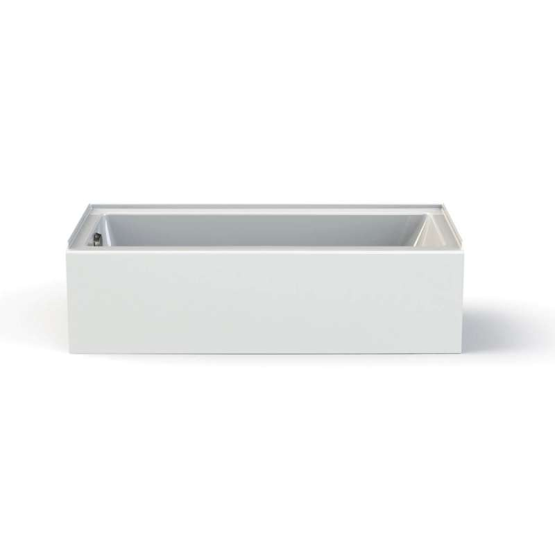 106348-L-000-001 - MAAX Rubix Access 60-in x 30-in IFS Soaking Alcove Bathtub with Left Hand Drain