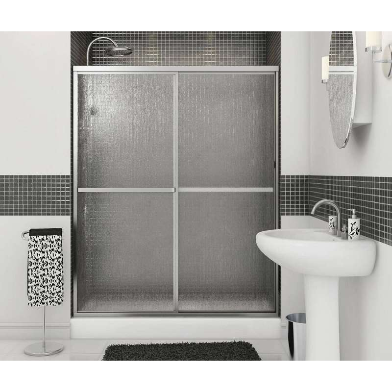 105412-970-084-000 - MAAX Polar Shower Dr 54-59 1/2 X 68 Raindrop Chrome