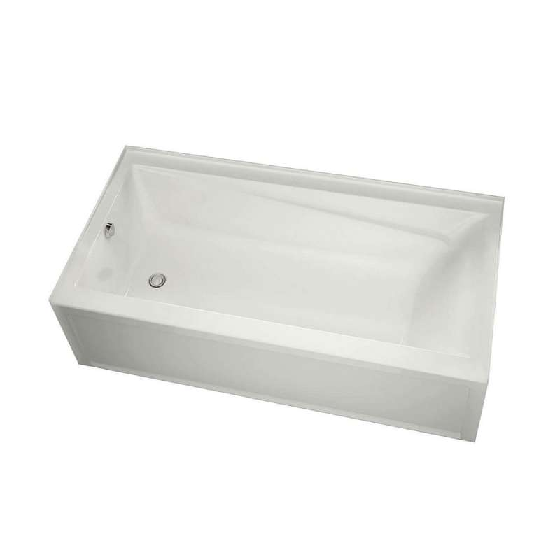 105519-L-000-001 - MAAX Exhibit 60in x 30in IFS Soaking Bathtub with Left-Hand Drain