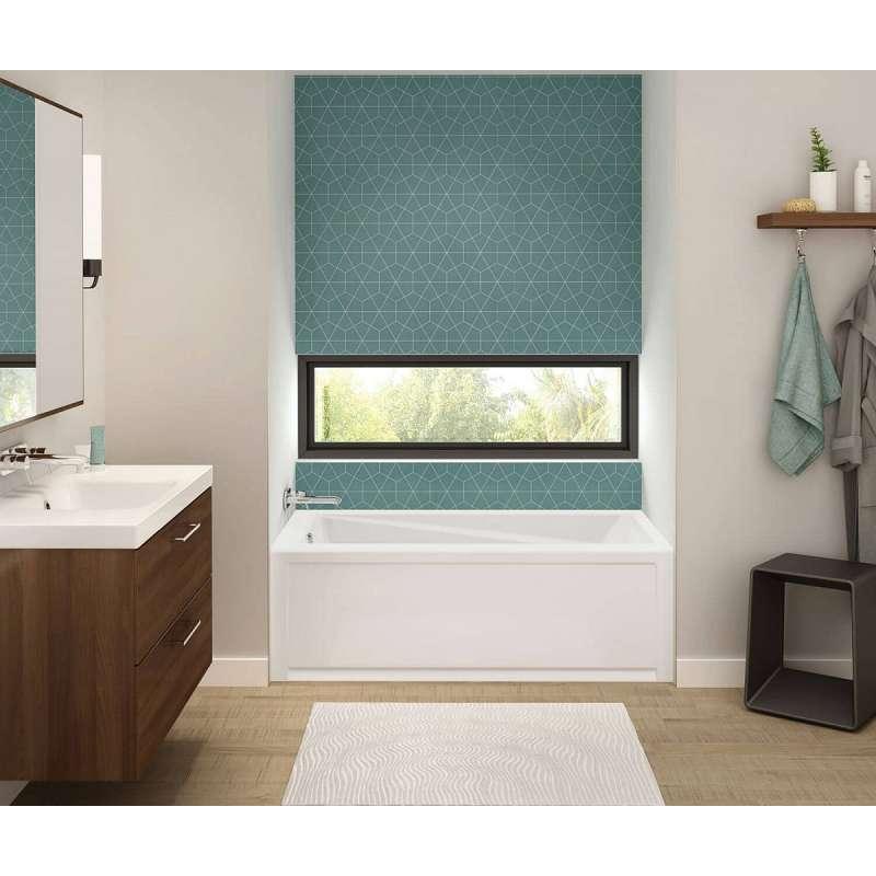Maax Exhibit 105520 R 000 001 60in X 32in Soaking Bathtub