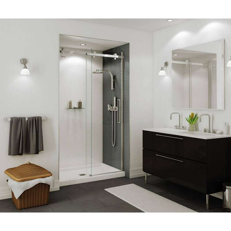 138996-900-000 - MAAX Halo 44.5 to 47in x 78.75in Clear Frameless Alcove Shower Door