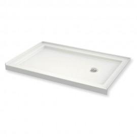 MAAX B3Round 60in x 36in Rectangular Acrylic Shower Base