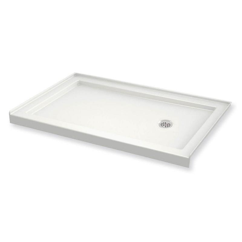 410006-R-501-001 - MAAX B3Round 60in x 36in Rectangular Acrylic Shower Base with Right-Hand Drain