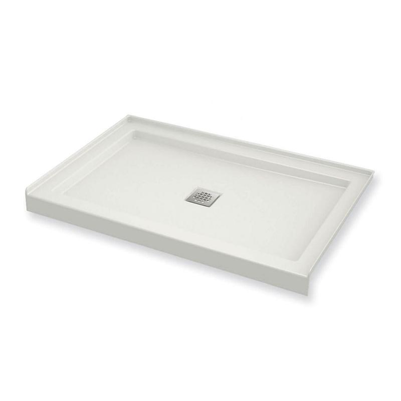 420001-501-001 - MAAX B3Square 48in x 32in with Center Drain