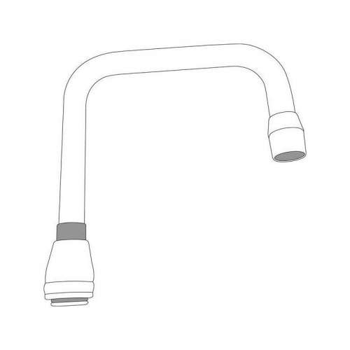 Moen M-DURA 6-In Double Bend Spout