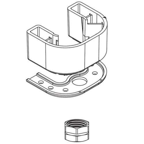 Moen Chateau Hardware Kit