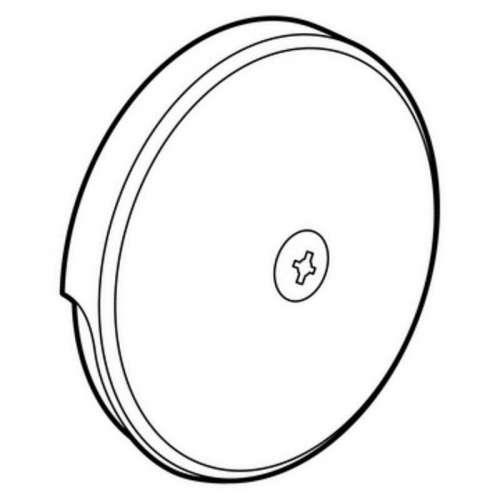 Moen Single-Hole Tub Overflow Faceplate