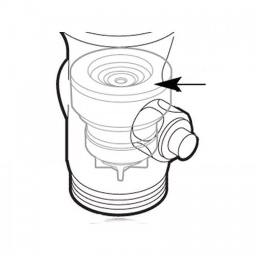 Moen Commercial Flush Valve Piston Control Moentrol Disc