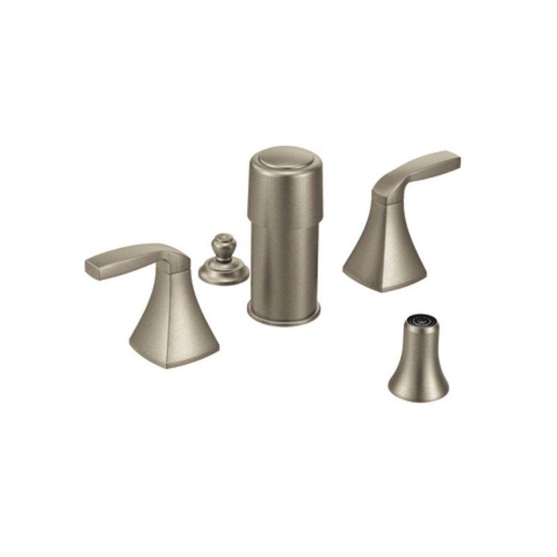 Moen Voss 2 Handle Bidet Faucet In Brushed Nickel T5269bn Online