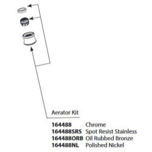 Moen Weymouth Replacement Aerator Kit