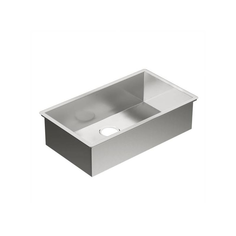 Moen 1800 Series 31.25-In X 18-In 18 Gauge Single Bowl Sink