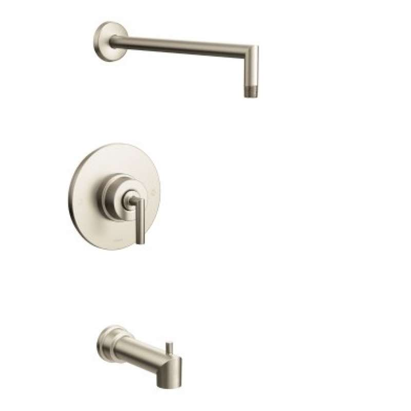 Moen Arris Wall-Mounted Tub and Shower Trim without Showerhead
