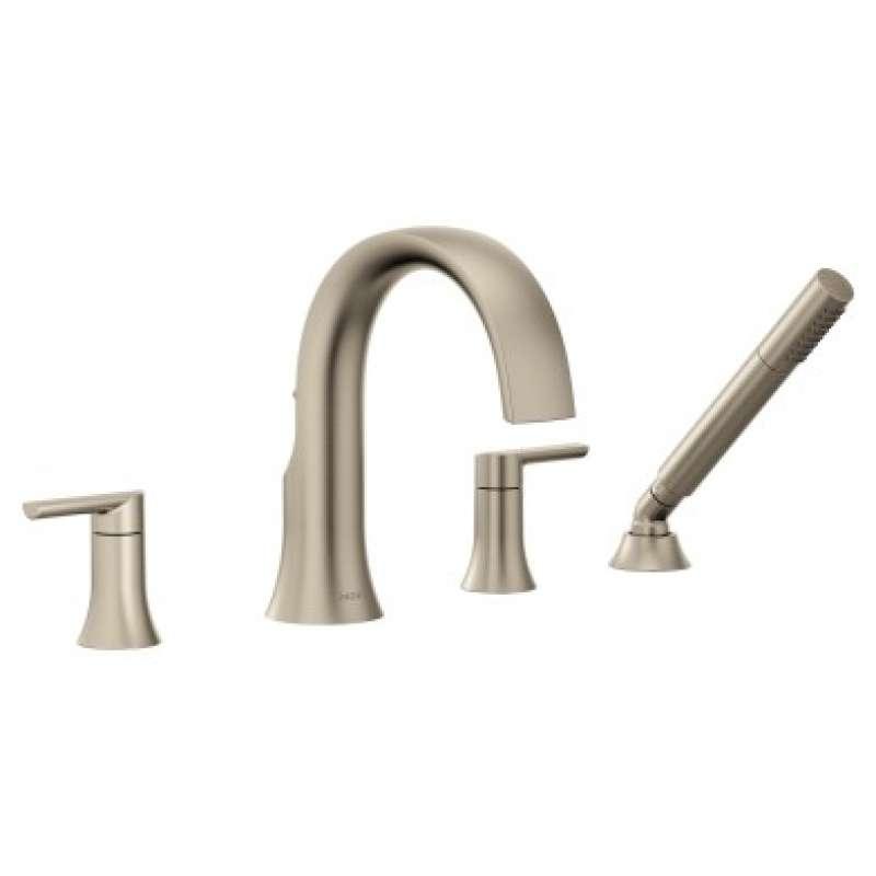 Moen Doux 1.75-GPM Deck Roman Bathtub Faucet with Watersense