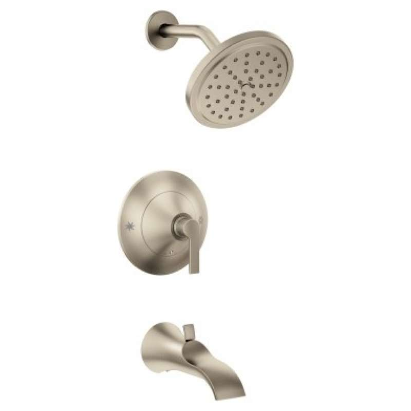 Moen Doux 2.5-GPM Wall-Mounted Tub and Shower Trim