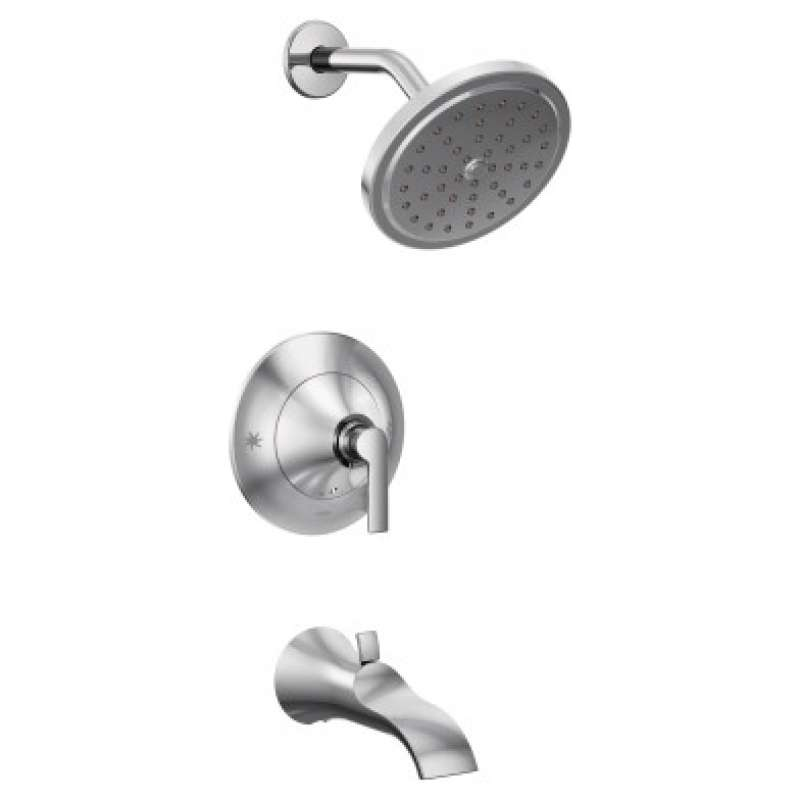 Moen Doux 1.75-GPM Wall-Mounted Tub and Shower Trim with Watersense - In Multiple Colors