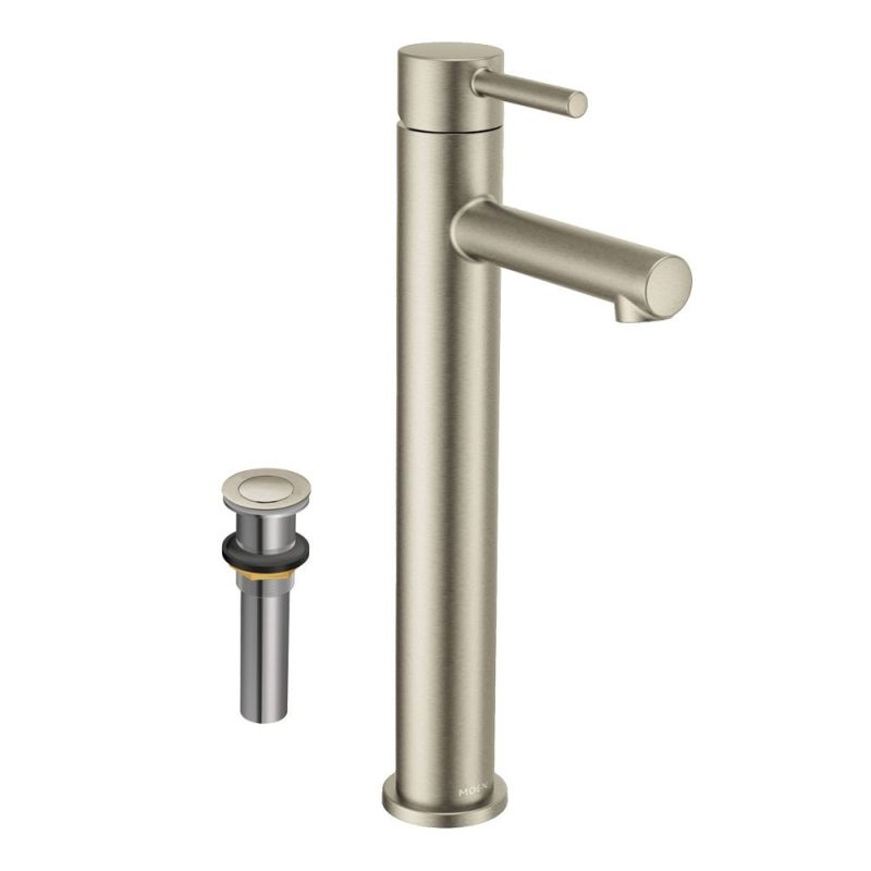 Moen Align 12-3/32-In Lavatory Faucet With Drain