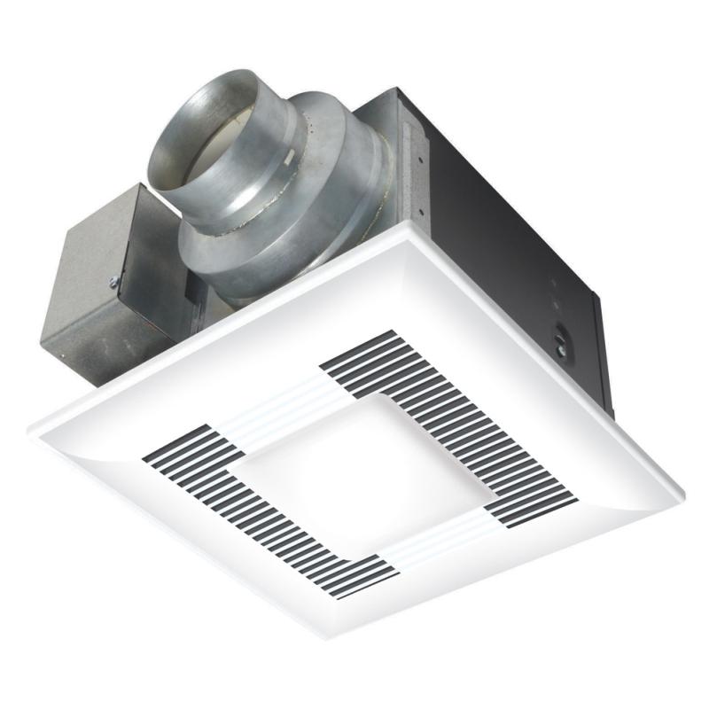Panasonic WhisperLite Bathroom Fan With Light