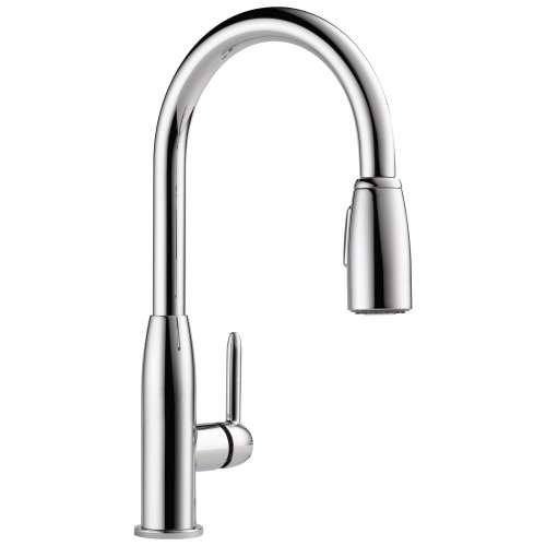 Peerless Apex 1.8 GPM 1-Handle Kitchen Faucet In Chrome